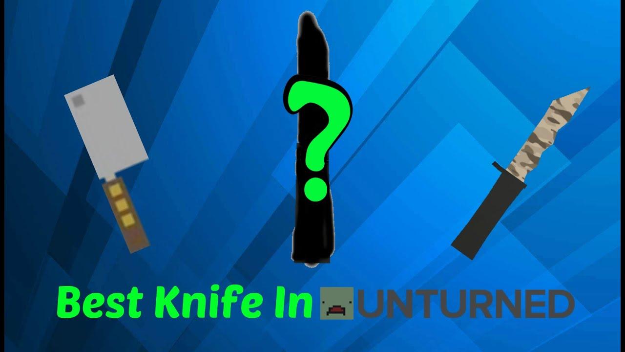 unturned butcher knife