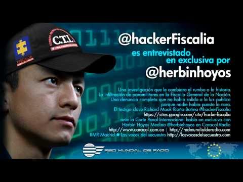 @hackerFiscalia entrevistado en exclusiva por @herbinhoyos | CaracolRadio/Red Mundial de Radio