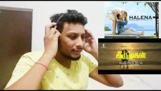 Halena Song Teaser - NorthIndian Reaction Review - Iru Mugan[Tamil Movie] - Vikram,Nayanthara