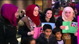 CTV News: Ahmadiyya Muslims welcome Syrian Families to Canada