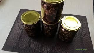 Маринованные грибы опята  Пошаговый рецепт
