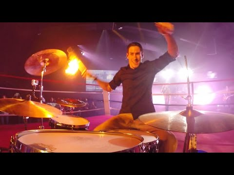 Fire Drumming FAIL! - Fall Out Boy - Phoenix - Live Cover