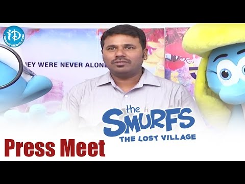 Smurfs : The Lost Village Movie Press Meet || Demi Lovato || Rainn Wilson || Kelly Asbury