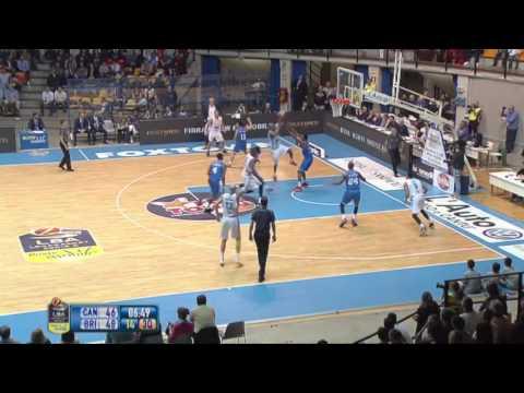 23^Giornata: MIA Cantù - Enel Basket Brindisi 83-77