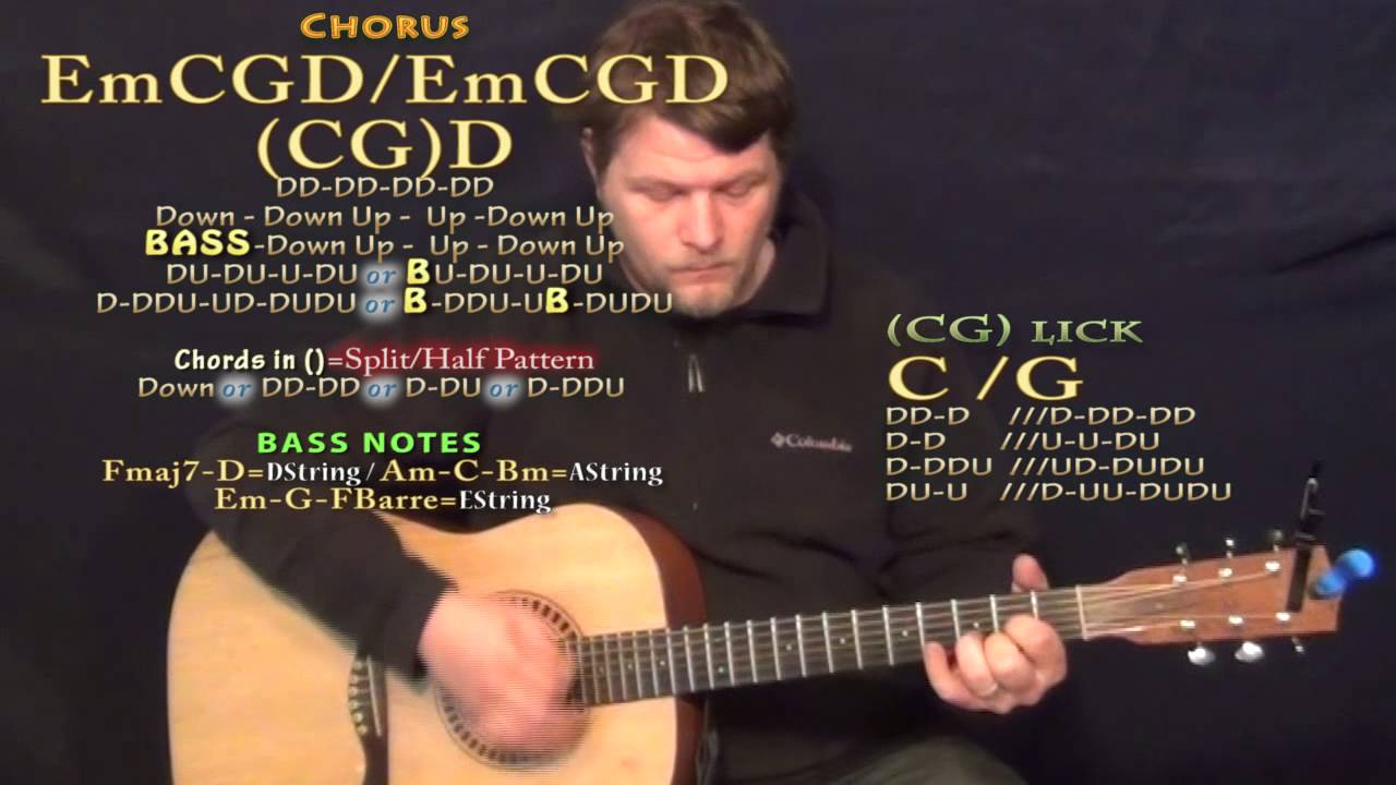 Little Toy Guns Carrie Underwood Guitar Lesson Chord Chart Youtube