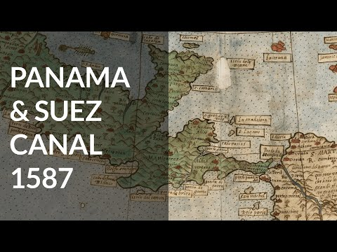 Panama Canal & Suez Canal Already Built in 1587 & Antarctica Populated