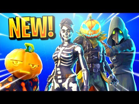*NEW* FORTNITE 2018 HALLOWEEN SKINS LEAKED! PLAGUE SKIN, HOLLOW HEAD SKIN, SKULL RANGER SKIN & MORE!