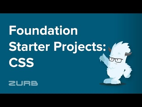 Foundation Starter Projects - CSS | Foundation 6 By ZURB