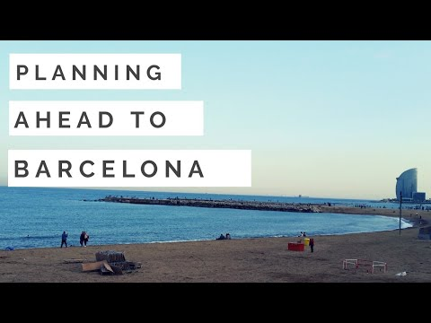 Barcelona/ Planning ahead/Trip advisor/check list/Packing/Things to do before travelling/
