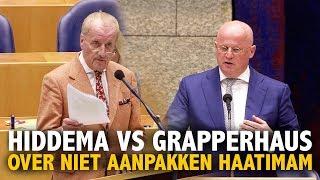 Hiddema vloert Grapperhaus over aanpakken haatimam