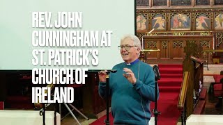 Rev  John Cunnigham at St  Patrick's Church