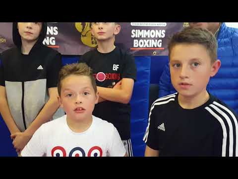GBBU & FLEET BOXING KIDS ON THEIR FORTHCOMING FIGHTS WITH JOHNNY ARMOUR & SPENCER FRANCIS