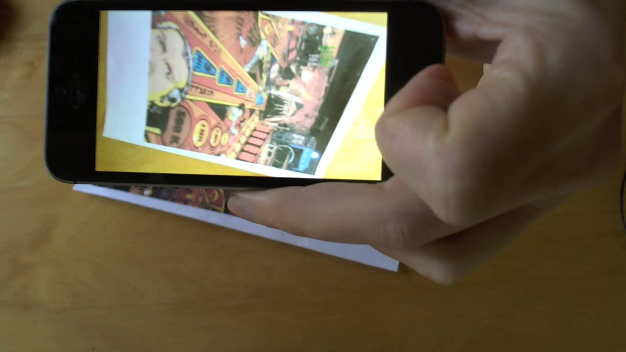 Unreal Engine 4 - Mobile Augmented Reality TEST (iOS / iPhone)
