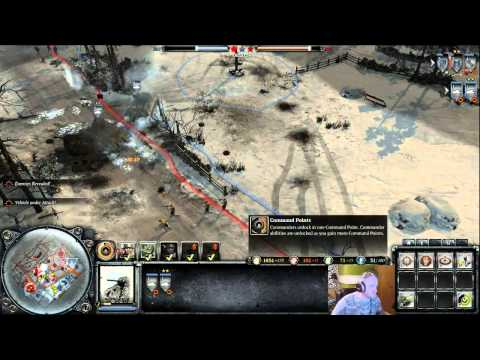Company of Heroes 2 battle with High level players!