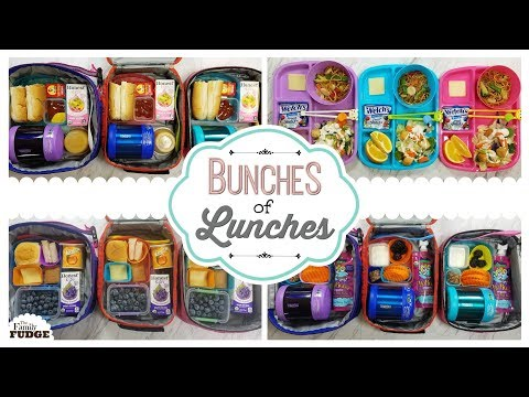 School Lunch Ideas || Bunches of Lunches Week 6 || Giveaway