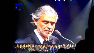 Andrea Bocelli - Time To Say Goodbye feat. Serena Farnocchia (Live in Kaunas, Lithuania)