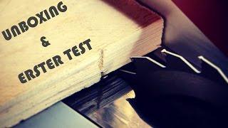 Unboxing und erster Test meiner neuen Tischkreissäge