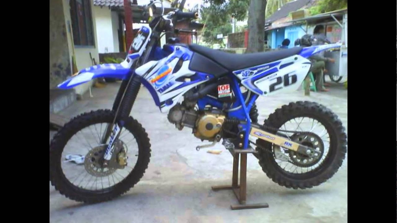 Modifikasi Motor Trail Motorplus Modif Trail''Motor Bebek