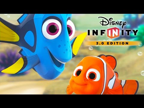 FINDING DORY Cartoon Games for Kids to Play - DISNEY INFINITY 3.0 Dory Videos for Kids