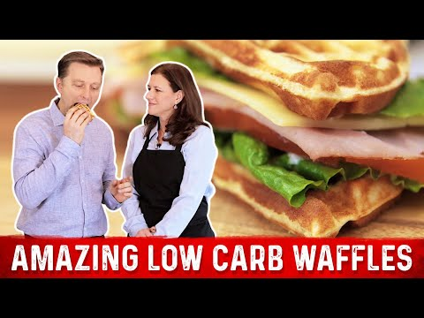 Amazing Low Carb Waffles