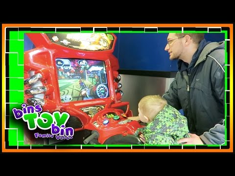 Road Trip to New Hampshire! 1.16.2017 | Bin's Toy Bin Family Vlog