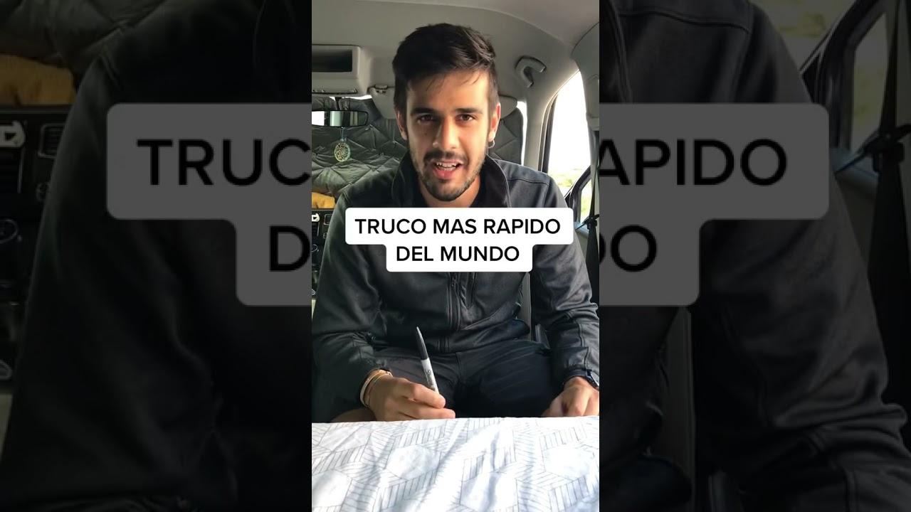 Truco de Magia RÁPIDO! 😱💨  #shorts