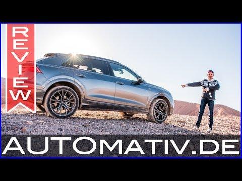 Audi Q8 55 TFSI (2018) im Fahrbericht in der Atacama-Wüste - 4.500 Meter Höhe!