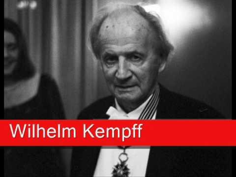 Wilhelm Kempff: Bach - Concerto No. 5 in F minor, 'Largo' BWV 1056 (arr. Wilhelm Kempff)