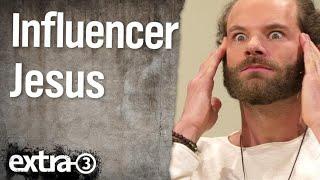 Christian Ehring im Gespräch mit Influencer Jesus (Maxi Schafroth)