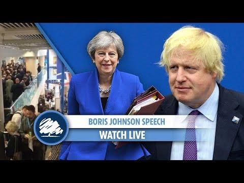 Boris Johnson's speech at Conservative Conference (FULL)