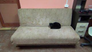 как сделать из старого дивана новый своими руками