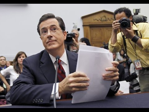 Stephen Colbert Testifies Before Congress