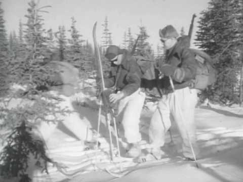 Cross Country Skiing & Winter Camping Army Style - Best Quality 1950 Training Film - w/Plain Phillip