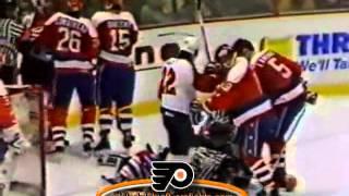 038 Dec 5, 1989 Dale Hunter vs Murray Craven Washington Capitals vs Philadelphia Flyers