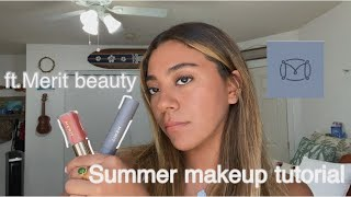 Summer makeup tutorial | Merit beauty