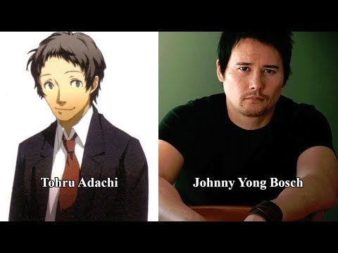 Characters and Voice Actors - Shin Megami Tensei: Persona 4