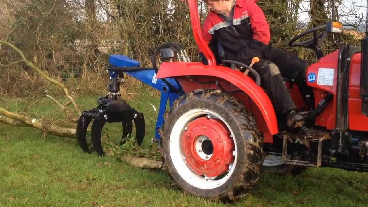 Pulling Tractors For Sale >> TeRaW skidder log grab - YouTube