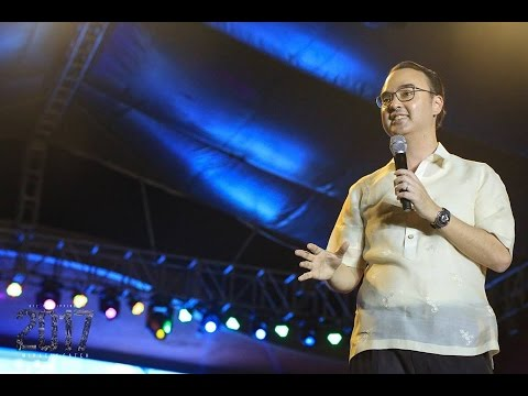 2017 G12 Philippines Cell Miracle Catch - Senator Alan Peter Cayetano