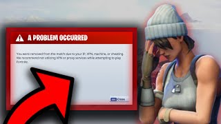 Error Ban FIXED! | How to get UnBanned From Fortnite!