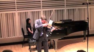 William Hagen,  Kreisler: Praeludium and Allegro