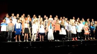 fall middle level choir concert 6th 8th grade october 22 2015