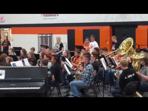 2017 A and Z Osmond high school band concert C