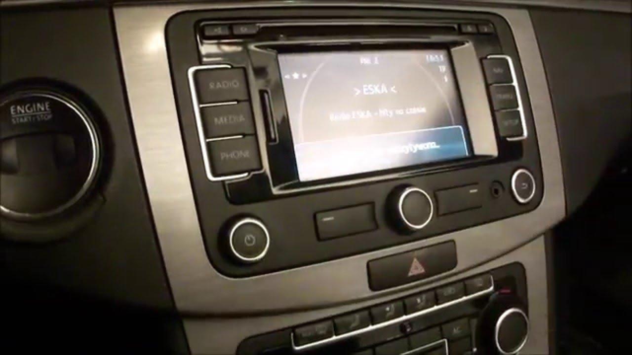 AKTUALIZACJA RNS315 VW do map Europa West 2016 V8