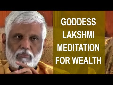 Goddess Lakshmi Meditation For Wealth