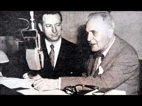 Bruno Walter In Conversation With Arnold Michaelis - 1956 Columbia Recording