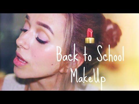 Back to School MakeUp | Быстрый макияж и прическа в школу