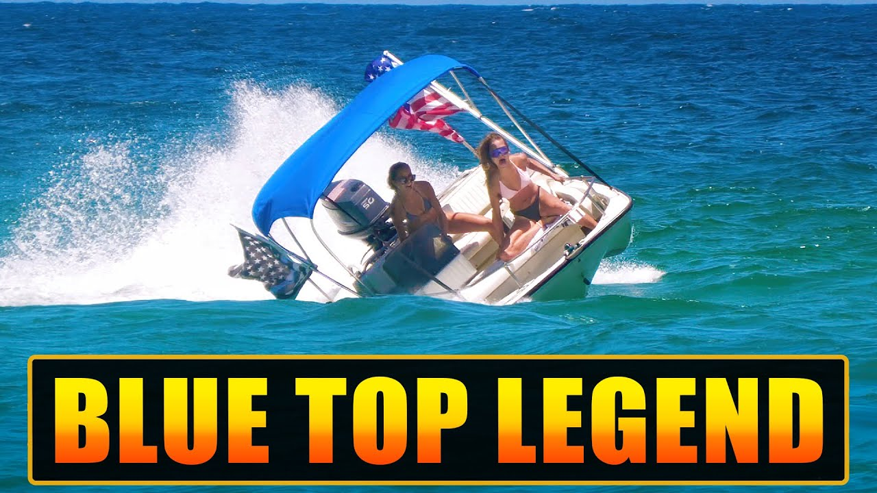 BLUE TOP LEGEND PLUS RESCUE AT BOCA INLET !!   HAULOVER INLET BOATS   WAVY BOATS
