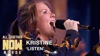 All Together Now Norge | Kristine fremfører Listen av Beyoncé | TVNorge