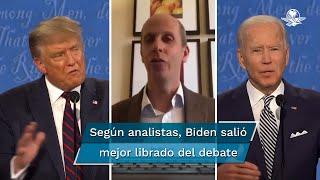¿Quién lo hizo mejor? El analista de la BBC en Norteamérica, Anthony Zurcher, ofrece algunas claves sobre el primer encuentro entre los dos candidatos presidenciales de Estados Unidos
