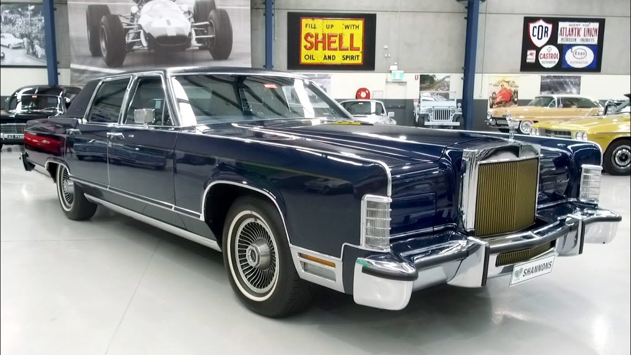 1978 Lincoln Continental 'Collectors Series' Sedan (LHD) - 2020 Shannons Winter Timed Online Auction